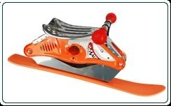 "Kinder Ski-Bockerl orange alu ""natur"""